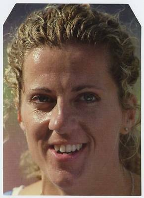 Scarce Trade Card of Sally Gunnell, Atheletics 1997