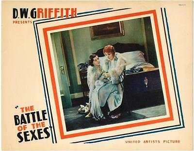THE BATTLE OF THE SEXES (1928) D.W. Griffith, Sally O'Neil and Belle Bennett,