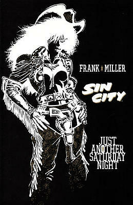 SIN CITY JUST ANOTHER SATURDAY NIGHT VF Frank Miller s/a, Dark Horse Comics 1998
