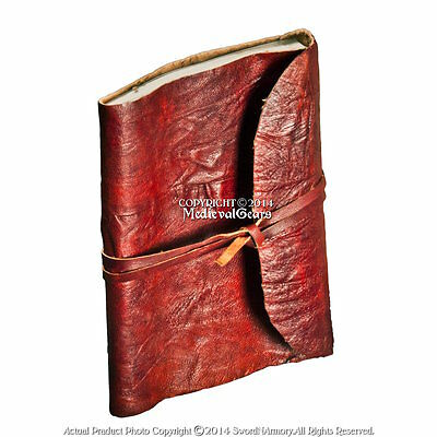 Handmade Genuine Leather Journal Cruse Style Medieval Renassiance Diary Notebook