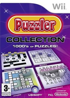 Puzzler Collection Game Wii Nintendo Wii PAL Brand New