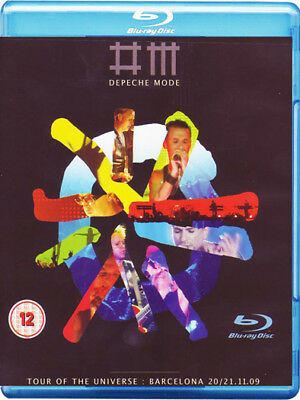 Depeche Mode Tour Of The Universe Barcelon Blu-Ray New Region B Video