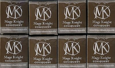 Mage Knight Conquest Limited Edition LE Set of 8 MINT Wizkids