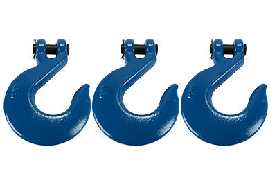 """3 Lot 5/8"""" Chain Slip Hook Clevis Rigging Tow Winch Trailer Grade 70"""