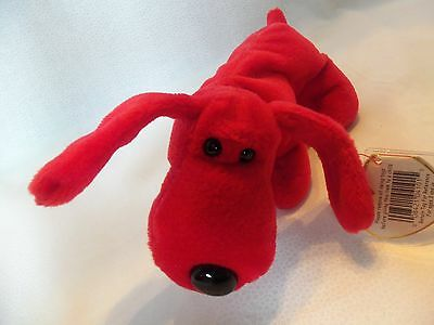 TY Beanie Babies Red Dog ** ROVER** 5th Generation New w/ Tag