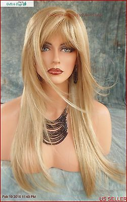 """stevie"" Authentic Amore Monotop Wig Creamy Toffee Turn Heads W/ This Beauty 547"