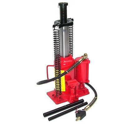 06184 Heavy Duty Air Hydraulic Jack 20 Ton Bottle Jack Pneumatic Lift Ram Car Va