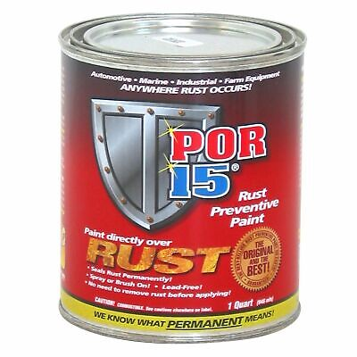 POR15 Car/Vehicle Rust Preventive/Prevention in Metal Paintwork – 475ml