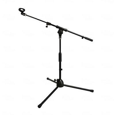 Titan AV Short Microphone Boom Stand With Telescopic Boom & Clip