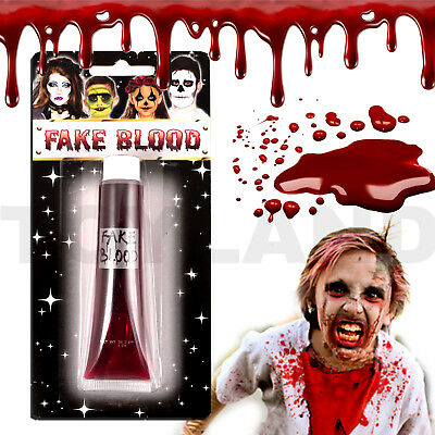 Fake Blood Zombie Halloween Dead Vampire Stage Costume Makeup Kids Fancy Dress