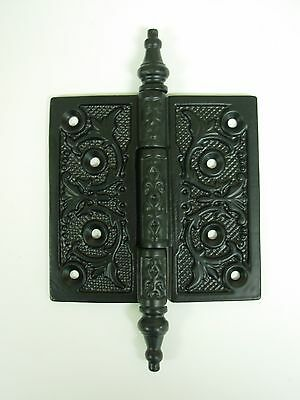 "Cast iron decorative hinge 4 x 4"". 390122"