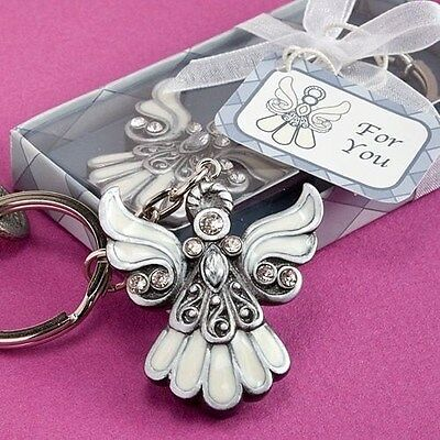 50 Angel Design Keychain Wedding Favors