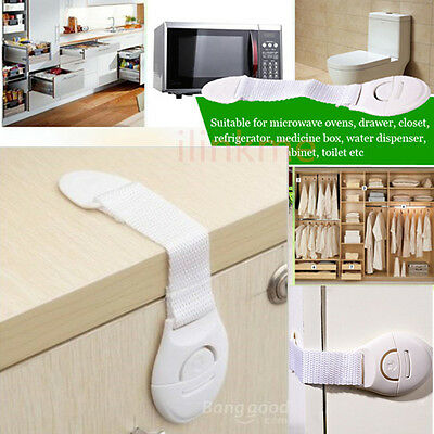 Baby Locks Child Infant Kids Toddler Safety Door Fridge Drawer Cabinet Cupboard