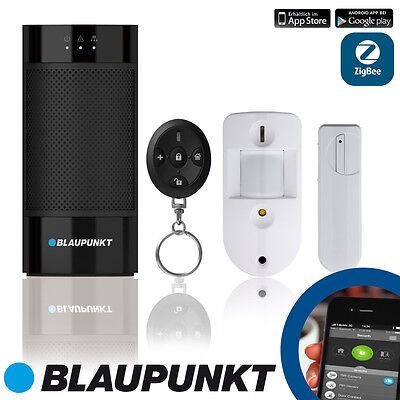 BLAUPUNKT IP-Alarmanlage Q 3200 - Smart Home Sicherheitssystem - Starter Set