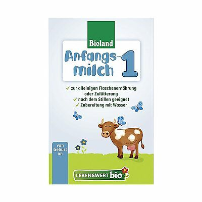 HOLLE Lebenswert Bio First Infant Milk Stage 1 Organic - 3 Boxes  500g (17.6oz)