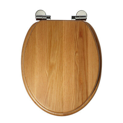 Top Fixing Wooden Toilet Seat Roper Rhodes Greenwich Honey Oak