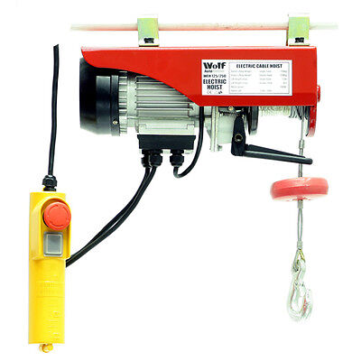 WOLF 550w Smooth Action 250Kg Electric Lever Hoist Lifting Winch Jack