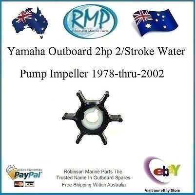 A Brand New Yamaha Outboard Impeller 2hp 2/Stroke 1978-thru-2012 #R 646-44352-00