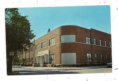 Municipal Building Pine and King Streets Seaford DE Sussex Postcard 081815