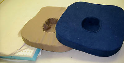"""1  Latex Seat Pad with Removable and Washable Cover 19"""" x 19"""" x 3"""""""