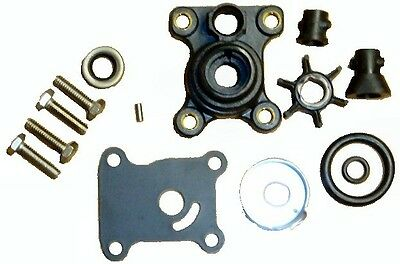 Water Pump Impeller Kit for Johnson Evinrude 9.9-15HP 1974-2007 Replaces 394711