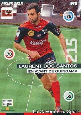 075 Laurent Dos Santos France Eag Guingamp Card Adrenalyn 2016 Panini