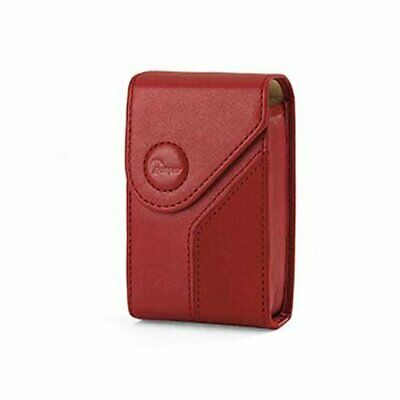 Lowepro Napoli 10 Real Soft Leather Digital Camera Pouch - Red