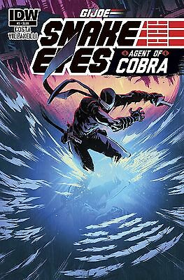 G.I. Joe Snake Eyes Agent Of Cobra #3 (NM)`15 Costa/ Villanelli