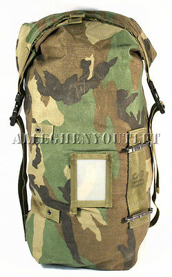 Military Woodland STORAGE WET WEATHER / COMPRESSION STUFF SACK UTILITY BAG GOOD