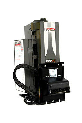 Coinco Mag Pro Bill Acceptor Validator - Accepts New 2008 $5, rebuilt unit