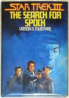 STAR TREK  III~ THE SEARCH FOR SPOCK ~ VONDA N McINTYRE ~ BOOK CLUB EDITION