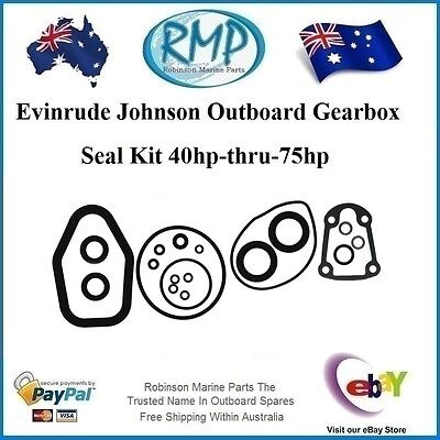 A Brand New Gearbox Seal Kit Evinrude Johnson Outboards 40hp-thru-75hp # 396355