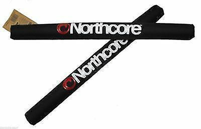 NORTHCORE Wide Load Roof Bar Pads 1 Pair NEW for Surfboard SUP kayak Windsurfer