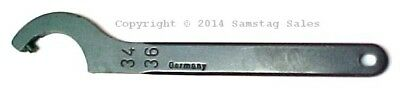 Porsche 996 997 Turbo Spoiler Pin Spanner Hook Wrench 34-36 AMF Germany 54924