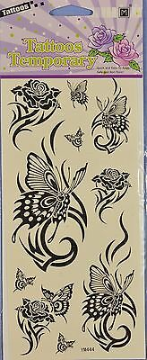 Temporary Tattoos - Butterflies #2