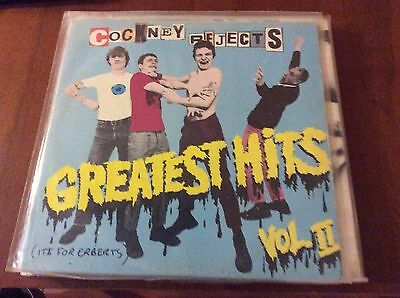 Cockney Rejects - Greatest Hits Vol II Uk Press Lp Cult Oi Punk!!!!