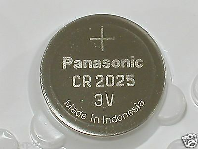 2 BULK PANASONIC CR2025 cr 2025 ECR2025 3v Battery EXPIRE 2026
