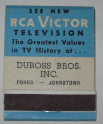 1950's The New RCA Victor Television Matchbook - Complete