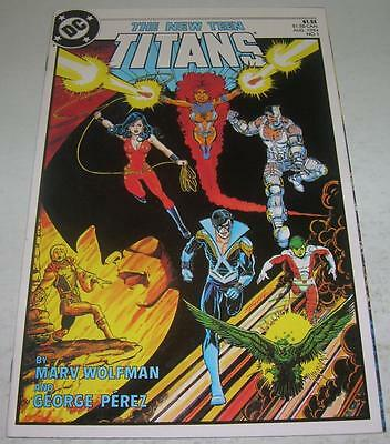 NEW TEEN TITANS #1 (DC Comics 1984) NIGHTWING & RAVEN (VF) George Perez art