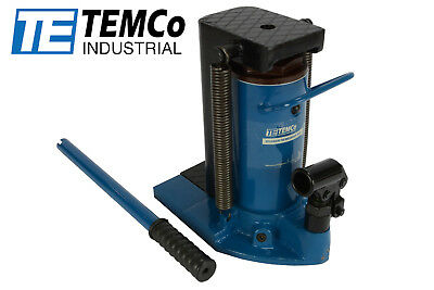 TEMCo Hydraulic Machine Toe Jack Lift 10 / 20 TON Track 5 YEAR Warranty