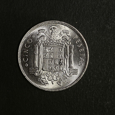 1949 - Spain 5 Pesetas KM 778 Great Deals From The TECC Bargain Bin