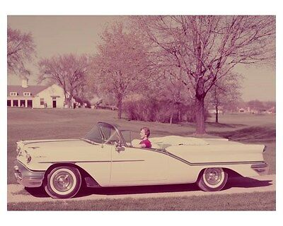 1957 Oldsmobile 98 Convertible Automobile Photo Poster zch8268