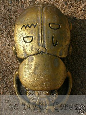 Egyptian scarab beetle cement plaster craft garden ornament latex moulds molds
