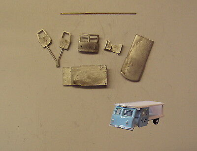 P&D Marsh N Gauge n Scale G14 Wales & Edwards milk float kit requires painting