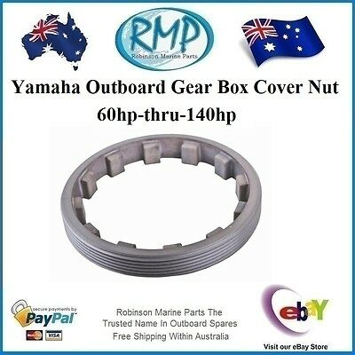 A Brand New Gear Box Cover Nut Suits Yamaha 60hp-thru-140hp # 688-45384-00