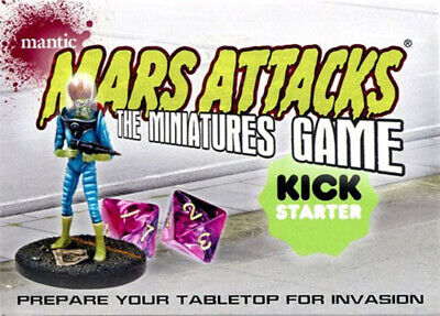 Mars Attacks Invasion Miniatures Game Promo Chase Card