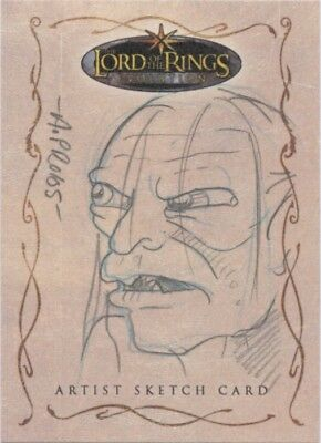 Lord of the Rings Evolution Gollum Sketch by Amy Pronovost