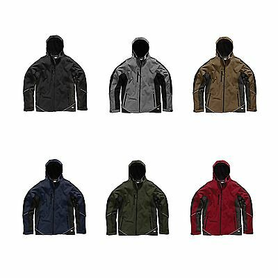 Dickies Mechanics / Workshop Two Tone Waterproof Polyester Soft Shell Jacket
