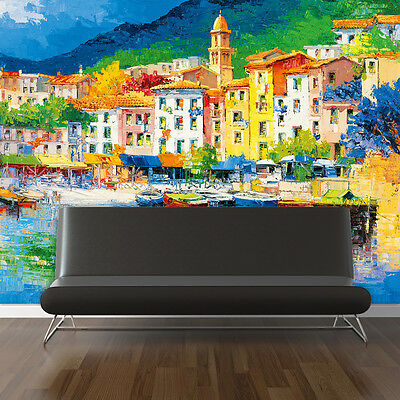 Home Home Mural Decoration Decal Sticker Painting Art Rivera Wall 366cm x 254cm