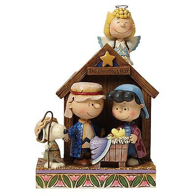Peanuts Snoopy Christmas Nativity by Jim Shore NEW in Gift box - 25468